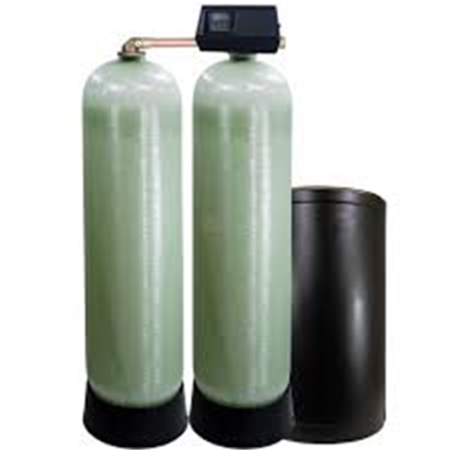 "Fleck 9500 1.5"" Alternating Twin Water Softeners, Flow Rates Up to 32 GPM"